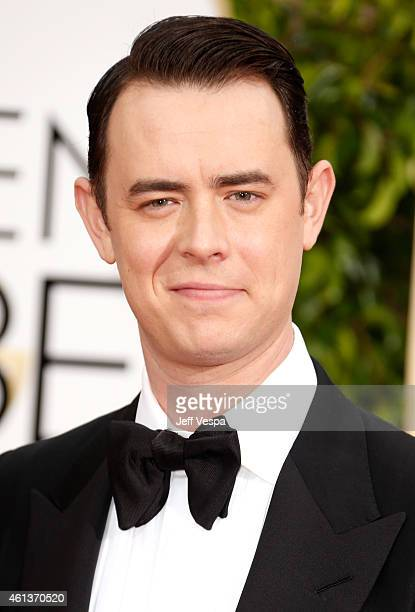 Actor Colin Hanks attends the 72nd Annual Golden Globe Awards at The Beverly Hilton Hotel on January 11 2015 in Beverly Hills California