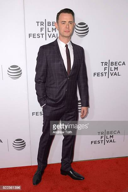 Actor Colin Hanks attends the 'Elvis Nixon' premiere during the 2016 Tribeca Film Festival at John Zuccotti Theater at BMCC Tribeca Performing Arts...