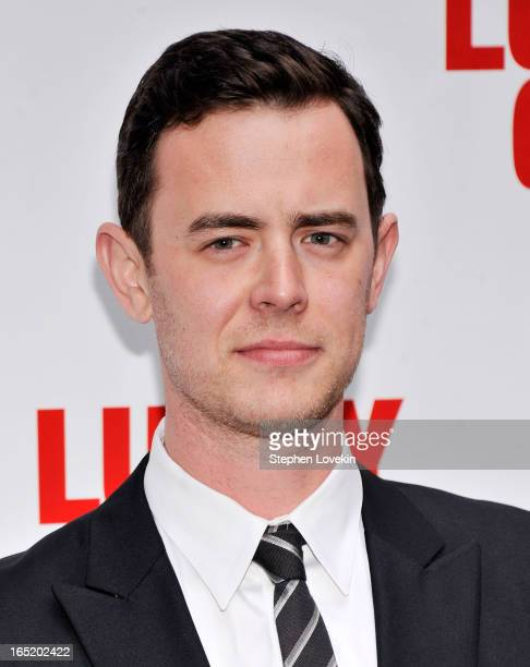 Actor Colin Hanks attends the 'Lucky Guy' Broadway Opening Night at The Broadhurst Theatre on April 1 2013 in New York City