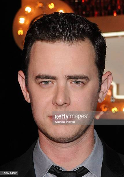 Actor Colin Hanks attends the opening reception for 'The Good Guys Bad Guys Hot Cars' exhibition at Petersen Automotive Museum on May 18 2010 in Los...