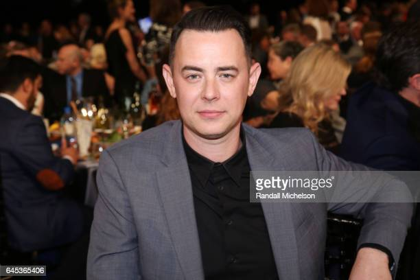 Actor Colin Hanks poses during the 2017 Film Independent Spirit Awards at the Santa Monica Pier on February 25 2017 in Santa Monica California