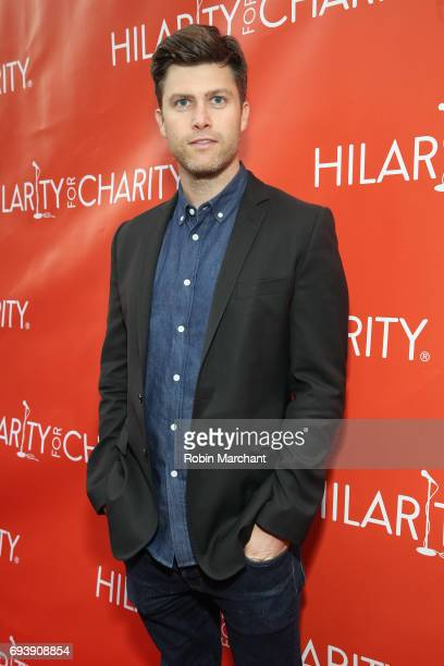 Actor Colin Jost arrives at Hilarity for Charity's Third Annual New York City Variety Show at Webster Hall on June 8 2017 in New York City
