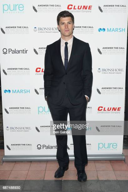 Actor Colin Jost attends Answer the Call's 5th Annual Red Blue Soiree at The Bowery Hotel on May 23 2017 in New York City