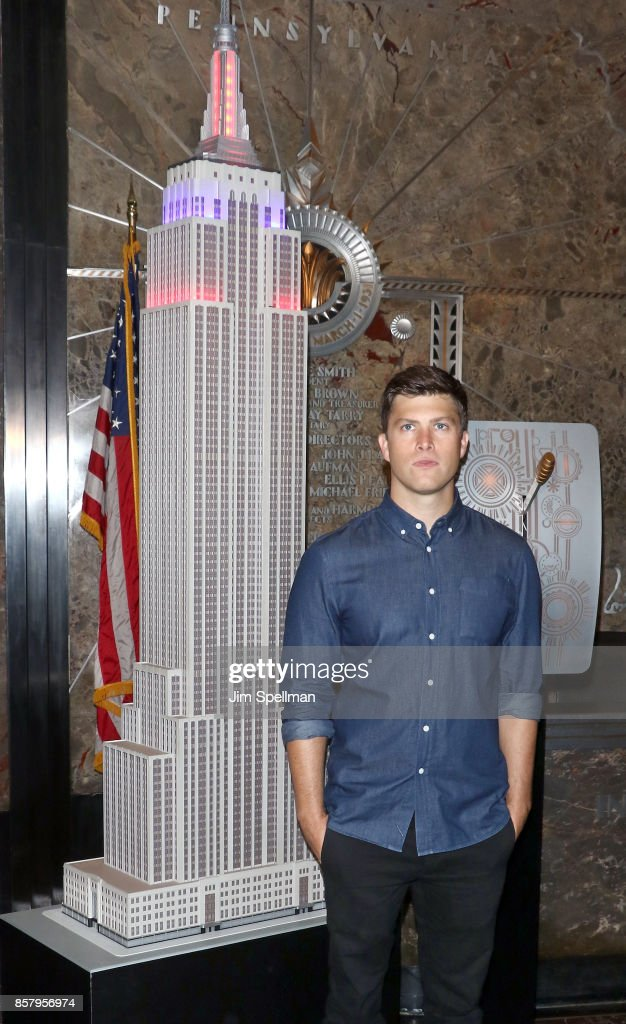 Colin Jost Lights The Empire State Building In Honor Of Answer The Call Day