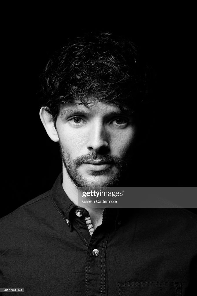Actor Colin Morgan poses in the portrait studio at the BFI London Film Festival 2014 on - actor-colin-morgan-poses-in-the-portrait-studio-at-the-bfi-london-picture-id457703140
