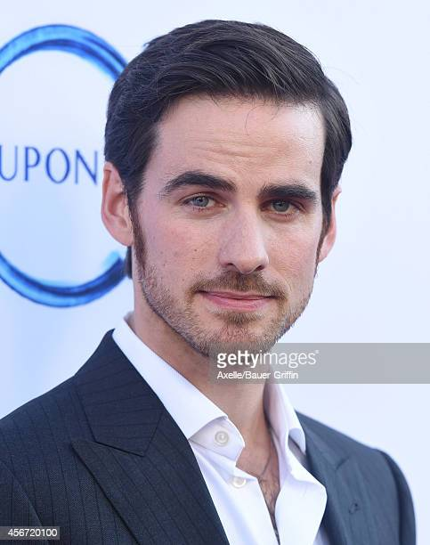 Actor Colin O'Donoghue arrives at ABC's 'Once Upon A Time' Season 4 Red Carpet Premiere at the El Capitan Theatre on September 21 2014 in Hollywood...