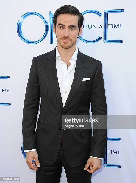 Actor Colin O'Donoghue attends ABC's 'Once Upon A Time' Season 4 red carpet premiere at the El Capitan Theatre on September 21 2014 in Hollywood...