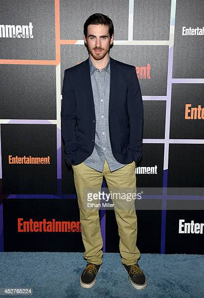 Actor Colin O'Donoghue attends Entertainment Weekly's annual ComicCon celebration at Float at Hard Rock Hotel San Diego on July 26 2014 in San Diego...