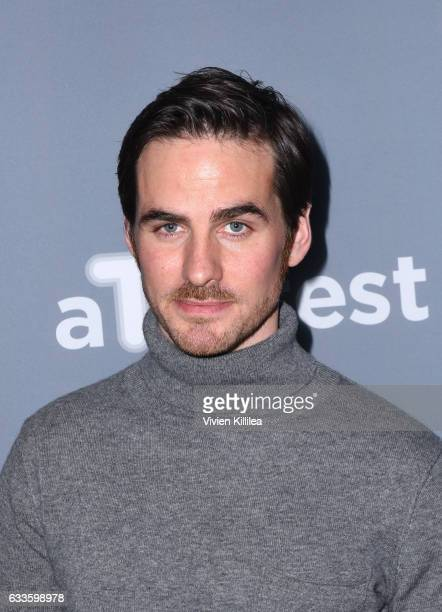 Actor Colin O'Donoghue attends 'Once Upon A Time' press junket on Day One of aTVfest 2017 presented by SCAD on February 2 2017 in Atlanta Georgia