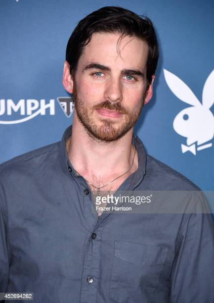 Actor Colin O'Donoghue attends Playboy and AE 'Bates Motel' Event during ComicCon International 2014 on July 25 2014 in San Diego California