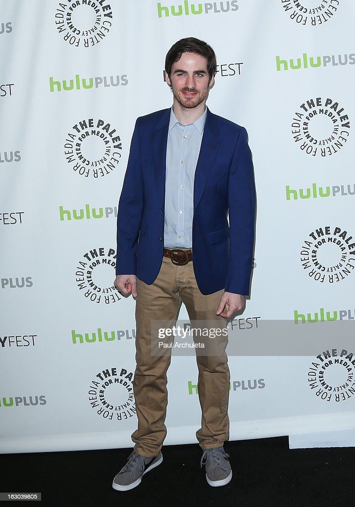 Actor Colin O'Donoghue attends the 30th annual PaleyFest featuring the cast of 'Once Upon A Time' at the Saban Theatre on March 3, 2013 in Beverly Hills, California.