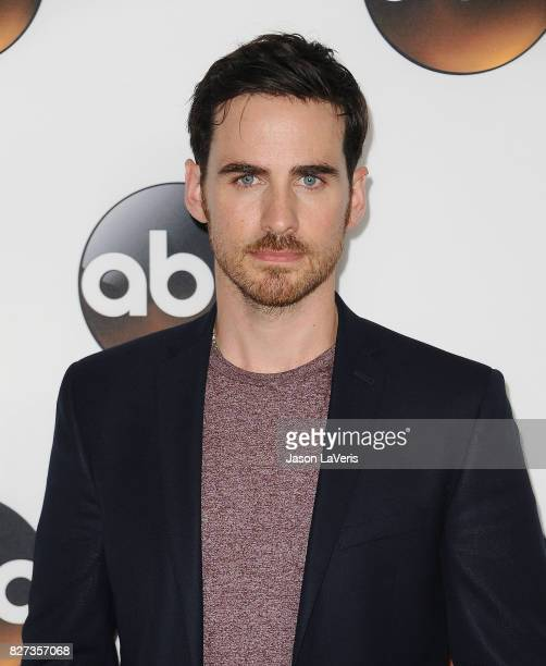 Actor Colin O'Donoghue attends the Disney ABC Television Group TCA summer press tour at The Beverly Hilton Hotel on August 6 2017 in Beverly Hills...