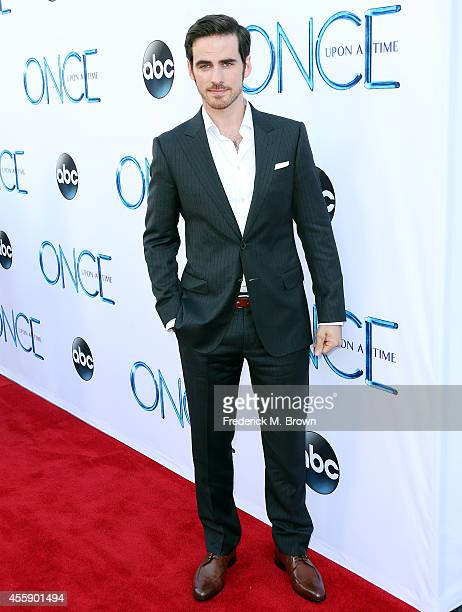 Actor Colin O'Donoghue attends the Screening of ABC's 'Once Upon A Time' Season 4 at the El Capitan Theatre on September 21 2014 in Hollywood...