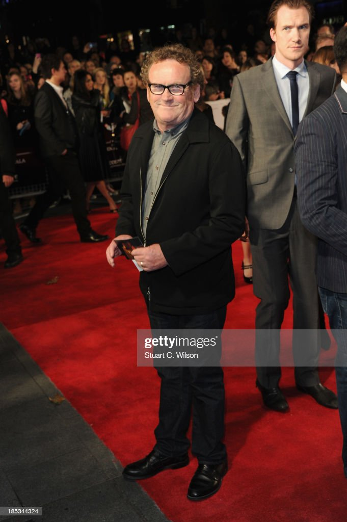 Actor <a gi-track='captionPersonalityLinkClicked' href=/galleries/search?phrase=Colm+Meaney&family=editorial&specificpeople=239198 ng-click='$event.stopPropagation()'>Colm Meaney</a> attends the European Premiere of 'Twelve Years A Slave' during the 57th BFI London Film Festival at Odeon Leicester Square on October 18, 2013 in London, England.