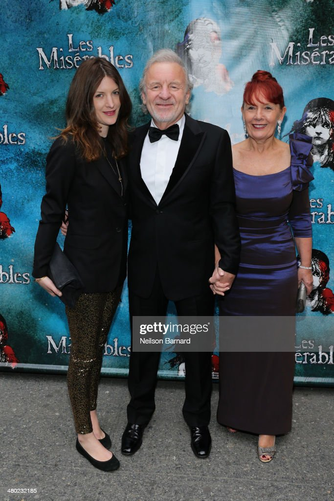 Actor Colm Wilkinson attends the opening night of Cameron Mackintosh's new production of Boublil and Schonberg's 'Les Miserables' on Broadway at The Imperial Theatre on March 23, 2014 in New York City.