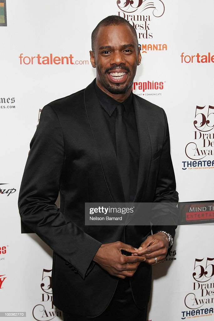 Actor Colman Domingo arrives at the 55th Annual Drama Desk Award at FH LaGuardia Concert Hall at Lincoln Center on May 23, 2010 in New York City.