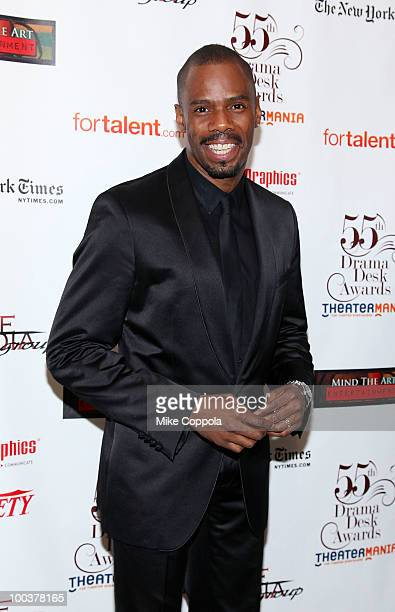 Actor Colman Domingo arrives at the 55th Annual Drama Desk Awards at the FH LaGuardia Concert Hall at Lincoln Center on May 23 2010 in New York City
