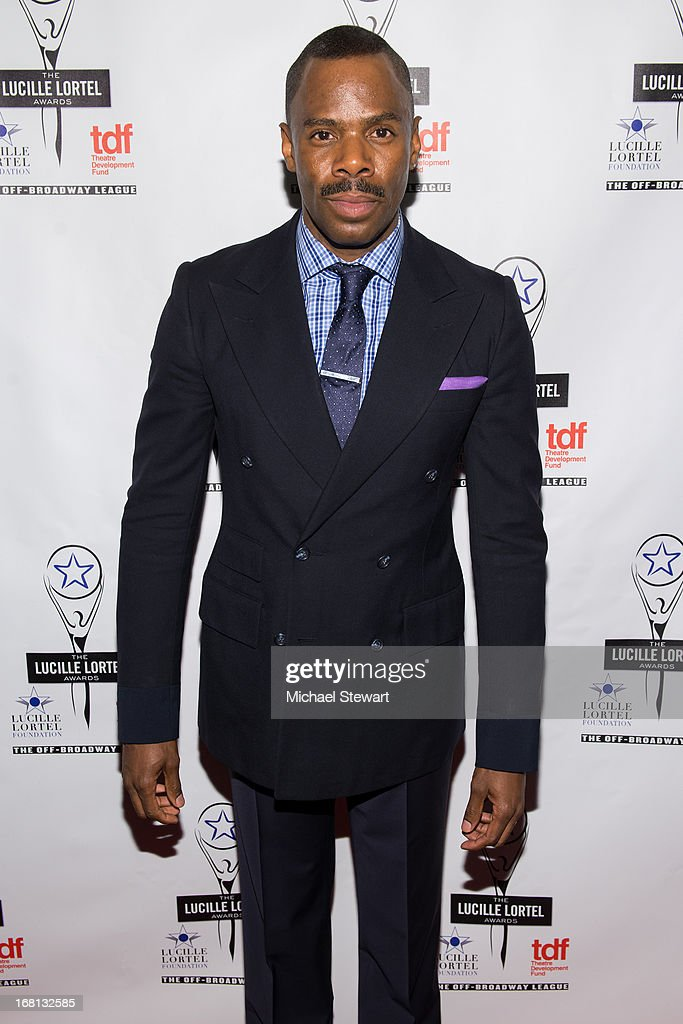 Actor <a gi-track='captionPersonalityLinkClicked' href=/galleries/search?phrase=Colman+Domingo&family=editorial&specificpeople=4946383 ng-click='$event.stopPropagation()'>Colman Domingo</a> attends the 2013 Lucille Lortel Awards at Jack H. Skirball Center for the Performing Arts on May 5, 2013 in New York City.