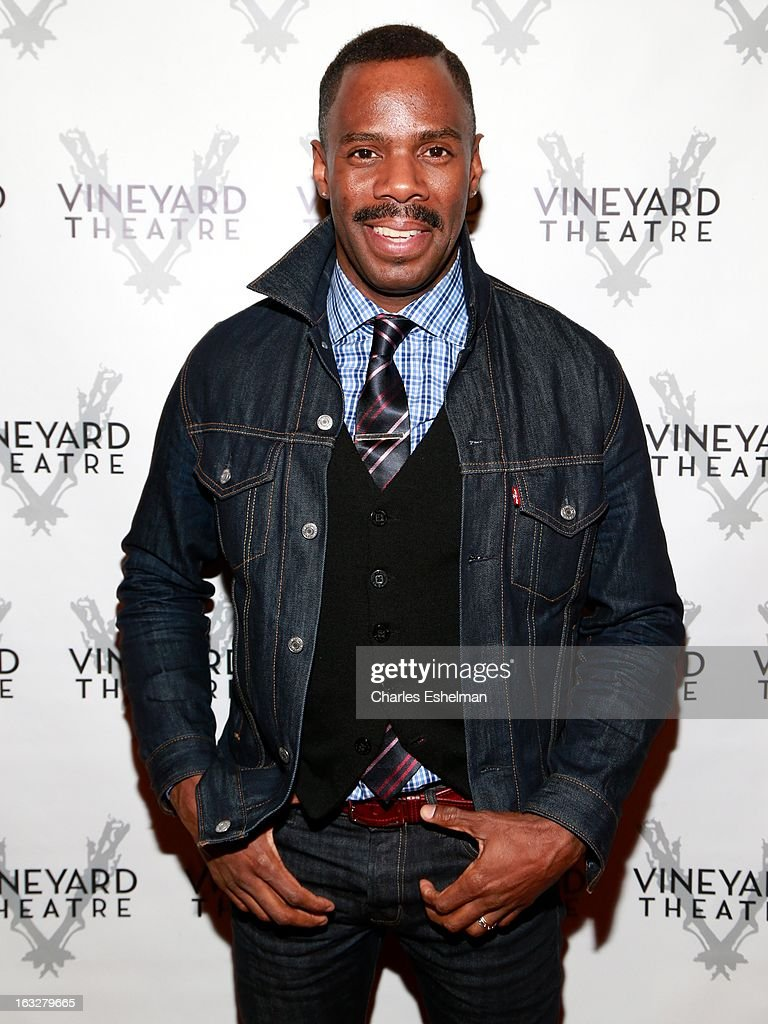 Actor Colman Domingo attends the off Broadway opening night of 'The North Pool' at Vineyard Theatre on March 6, 2013 in New York City.
