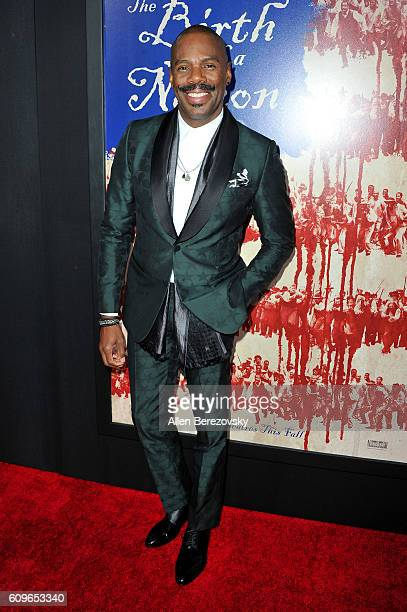 Actor Colman Domingo attends the premiere of Fox Searchlight Pictures' 'The Birth of A Nation' at ArcLight Cinemas Cinerama Dome on September 21 2016...