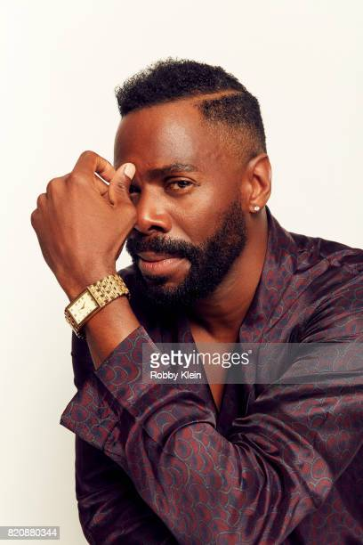 Actor Colman Domingo from AMC's 'Fear of the Walking Dead' poses for a portrait during ComicCon 2017 at Hard Rock Hotel San Diego on July 20 2017 in...