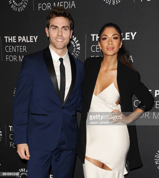Actor Colt Prattes and actress Nicole Scherzinger attend the 'Dirty Dancing The New ABC Musical Event' premiere screening and conversation at The...