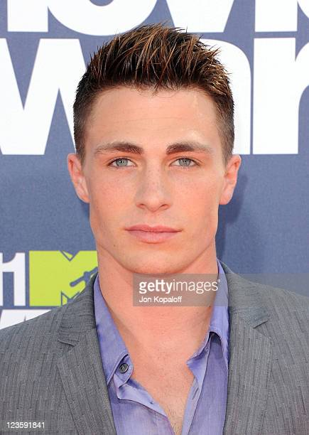 Actor Colton Haynes arrives at the 2011 MTV Movie Awards at Gibson Amphitheatre on June 5 2011 in Universal City California