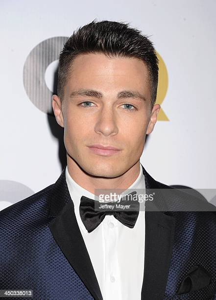 Actor Colton Haynes arrives at the 2013 GQ Men Of The Year Party at The Ebell of Los Angeles on November 12 2013 in Los Angeles California