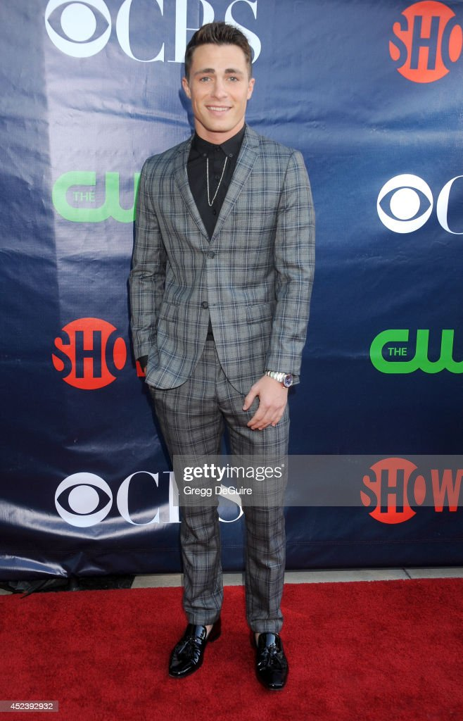 Actor <a gi-track='captionPersonalityLinkClicked' href=/galleries/search?phrase=Colton+Haynes&family=editorial&specificpeople=4282136 ng-click='$event.stopPropagation()'>Colton Haynes</a> arrives at the 2014 Television Critics Association Summer Press Tour - CBS, CW And Showtime Party at Pacific Design Center on July 17, 2014 in West Hollywood, California.