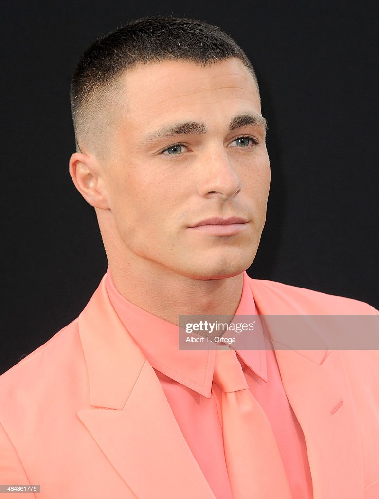Actor Colton Haynes arrives for the Premiere Of Warner Bros. Pictures' 'San Andreas' held at TCL Chinese Theatre on May 26, 2015 in Hollywood, California.