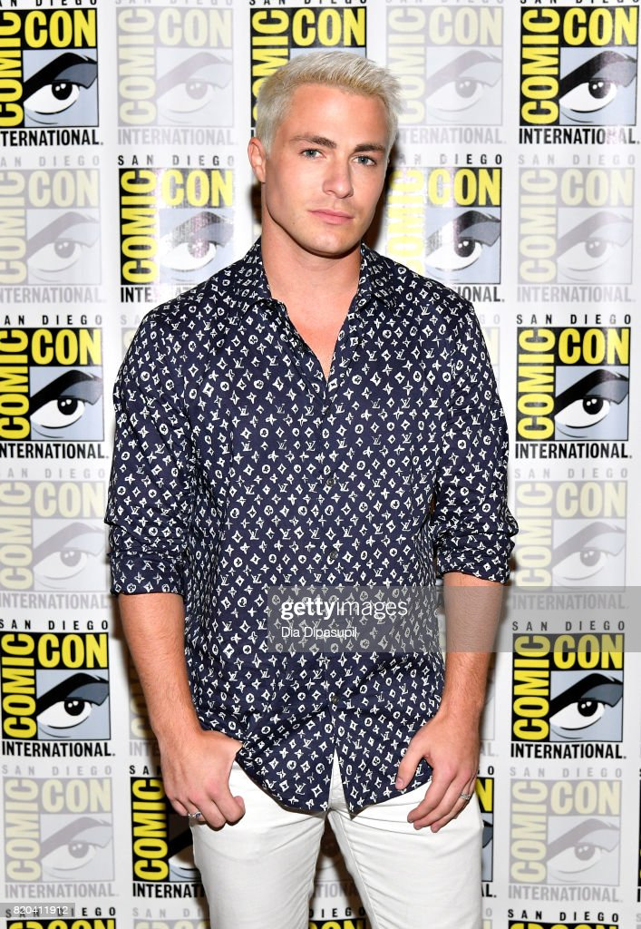 Actor Colton Haynes at the 'Teen Wolf' Press Line during Comic-Con International 2017 at Hilton Bayfront on July 21, 2017 in San Diego, California.