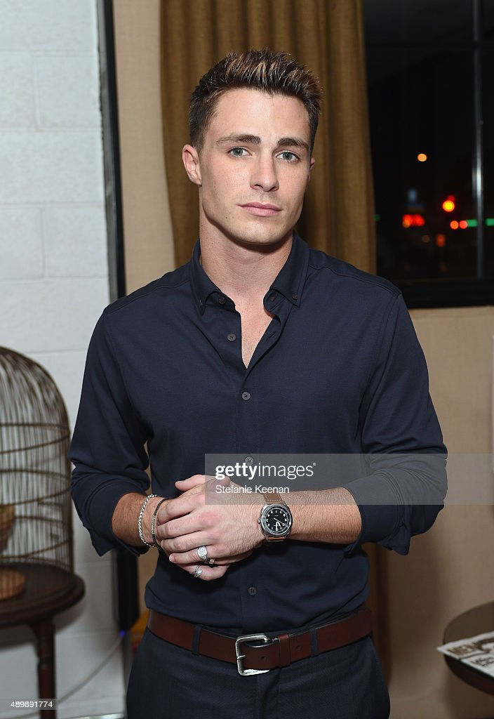 Actor <a gi-track='captionPersonalityLinkClicked' href=/galleries/search?phrase=Colton+Haynes&family=editorial&specificpeople=4282136 ng-click='$event.stopPropagation()'>Colton Haynes</a> attends MEN'S FITNESS Celebration of The 2015 Game Changers on September 24, 2015 in West Hollywood, California.