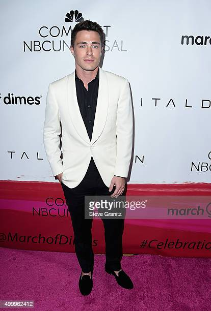 Actor Colton Haynes attends the 2015 March Of Dimes Celebration Of Babies at the Beverly Wilshire Four Seasons Hotel on December 4 2015 in Beverly...