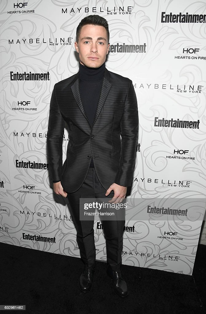 Actor Colton Haynes attends the Entertainment Weekly Celebration of SAG Award Nominees sponsored by Maybelline New York at Chateau Marmont on January 28, 2017 in Los Angeles, California.