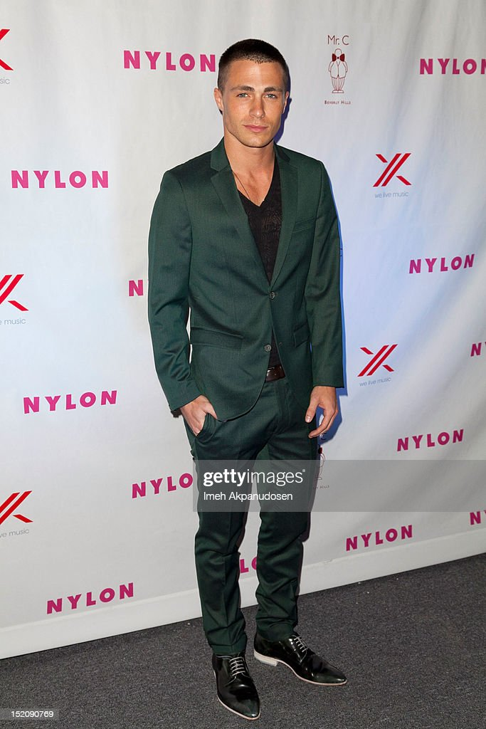 Actor <a gi-track='captionPersonalityLinkClicked' href=/galleries/search?phrase=Colton+Haynes&family=editorial&specificpeople=4282136 ng-click='$event.stopPropagation()'>Colton Haynes</a> attends the NYLON And Sony X Headphones September TV Issue Party at Mr. C Beverly Hills on September 15, 2012 in Beverly Hills, California.