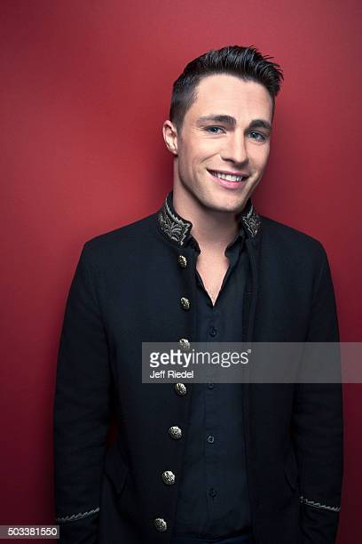 Actor Colton Haynes is photographed for TV Guide Magazine on January 17 2015 in Pasadena California