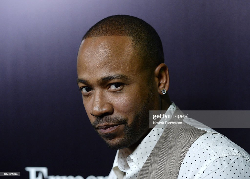 Actor <a gi-track='captionPersonalityLinkClicked' href=/galleries/search?phrase=Columbus+Short&family=editorial&specificpeople=536546 ng-click='$event.stopPropagation()'>Columbus Short</a> arrives to the Ermenegildo Zegna Global Store Opening hosted by Gildo Zegna and Stefano Pilati at Ermenegildo Zegna Boutique on November 7, 2013 in Beverly Hills, California..