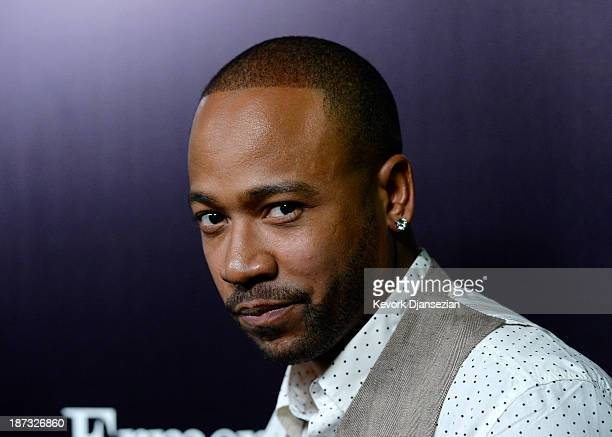 Actor Columbus Short arrives to the Ermenegildo Zegna Global Store Opening hosted by Gildo Zegna and Stefano Pilati at Ermenegildo Zegna Boutique on...