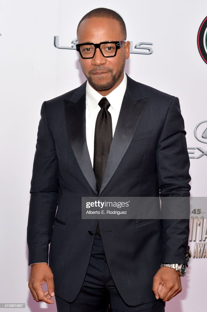 Actor Columbus Short attends the 45th NAACP Image Awards presented by TV One at Pasadena Civic Auditorium on February 22 2014 in Pasadena California