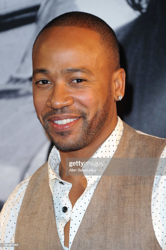 Actor Columbus Short attends the John Varvatos' new book 'John Varvatos Rock In Fashion' launch party at John Varvatos Los Angeles on November 7 2013...