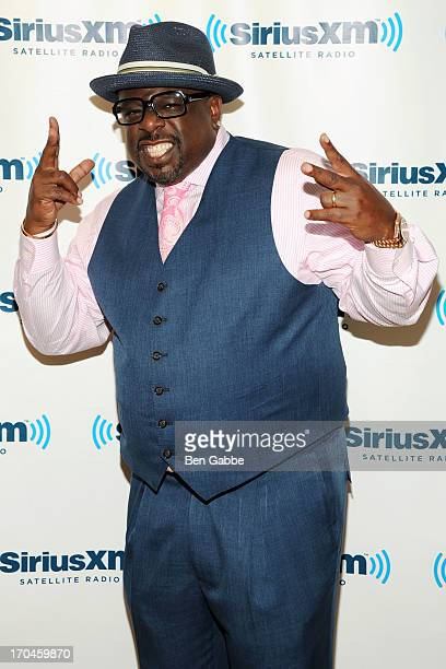 Actor comedian and director Cedric the Entertainer visits SiriusXM Studios on June 13 2013 in New York City