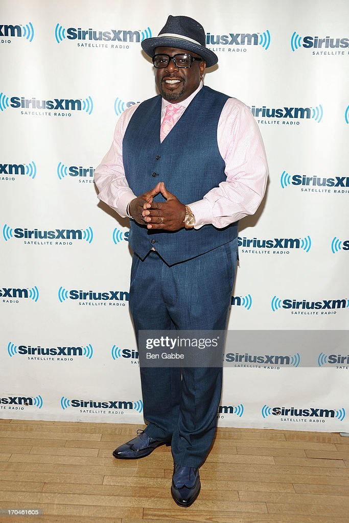 Actor, comedian and director Cedric the Entertainer visits SiriusXM Studios on June 13, 2013 in New York City.