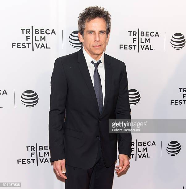 Actor comedian and filmmaker Ben Stiller attends the 'Little Boxes' Premiere during 2016 Tribeca Film Festival at Chelsea Bow Tie Cinemas on April 15...