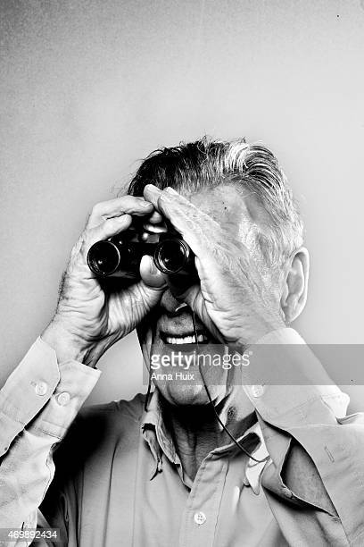 Actor comedian and tv presenter Michael Palin is photographed for the Independent on August 11 2014 in London England