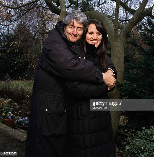 Actor comedian and ventriloquist Tom Nina Conti is photographed for the Sunday Times magazine on January 16 2004 in London England