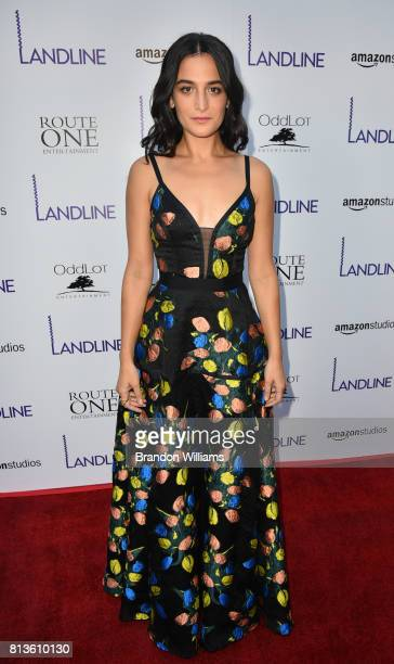 Actor / comedian / author Jenny Slate attends the premiere of Amazon Studios' 'Landline' at ArcLight Hollywood on July 12 2017 in Hollywood California