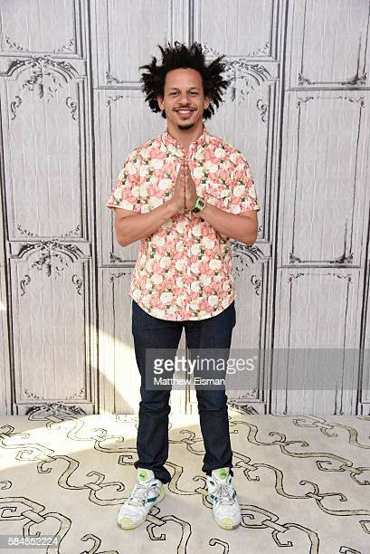 Actor/ Comedian Eric Andre attends AOL Build Presents to discus 'The Eric Andre Show' at AOL HQ on July 29 2016 in New York City