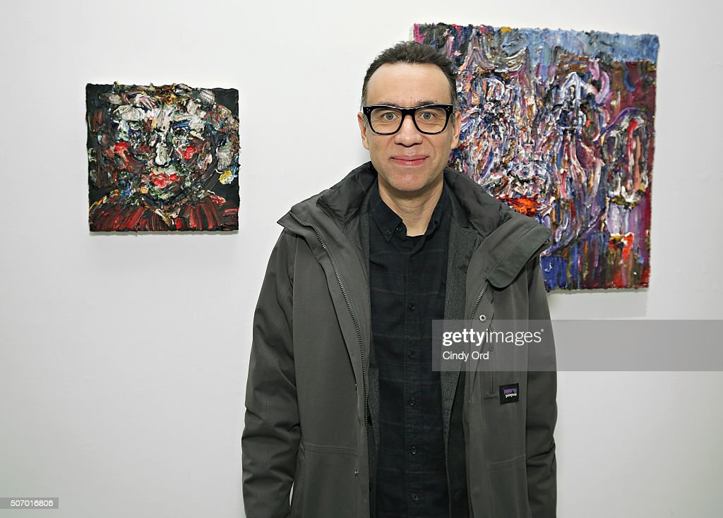 Actor/ comedian Fred Armisen attends Voyeur by Vanessa Prager hosted by Fred Armisen at The Hole on January 26 2016 in New York City