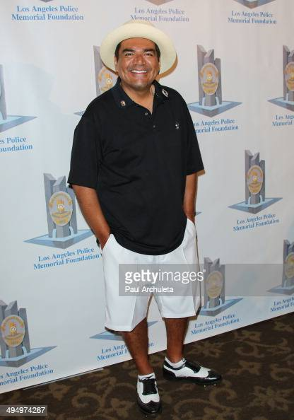 Actor / Comedian George Lopez attends the Los Angeles Police Memorial Foundation Celebrity Golf Tournament Family Fun Day at Brookside Golf Club on...