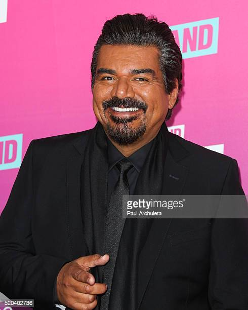 Actor / Comedian George Lopez attends the TV Land Icon Awards at The Barker Hanger on April 10 2016 in Santa Monica California